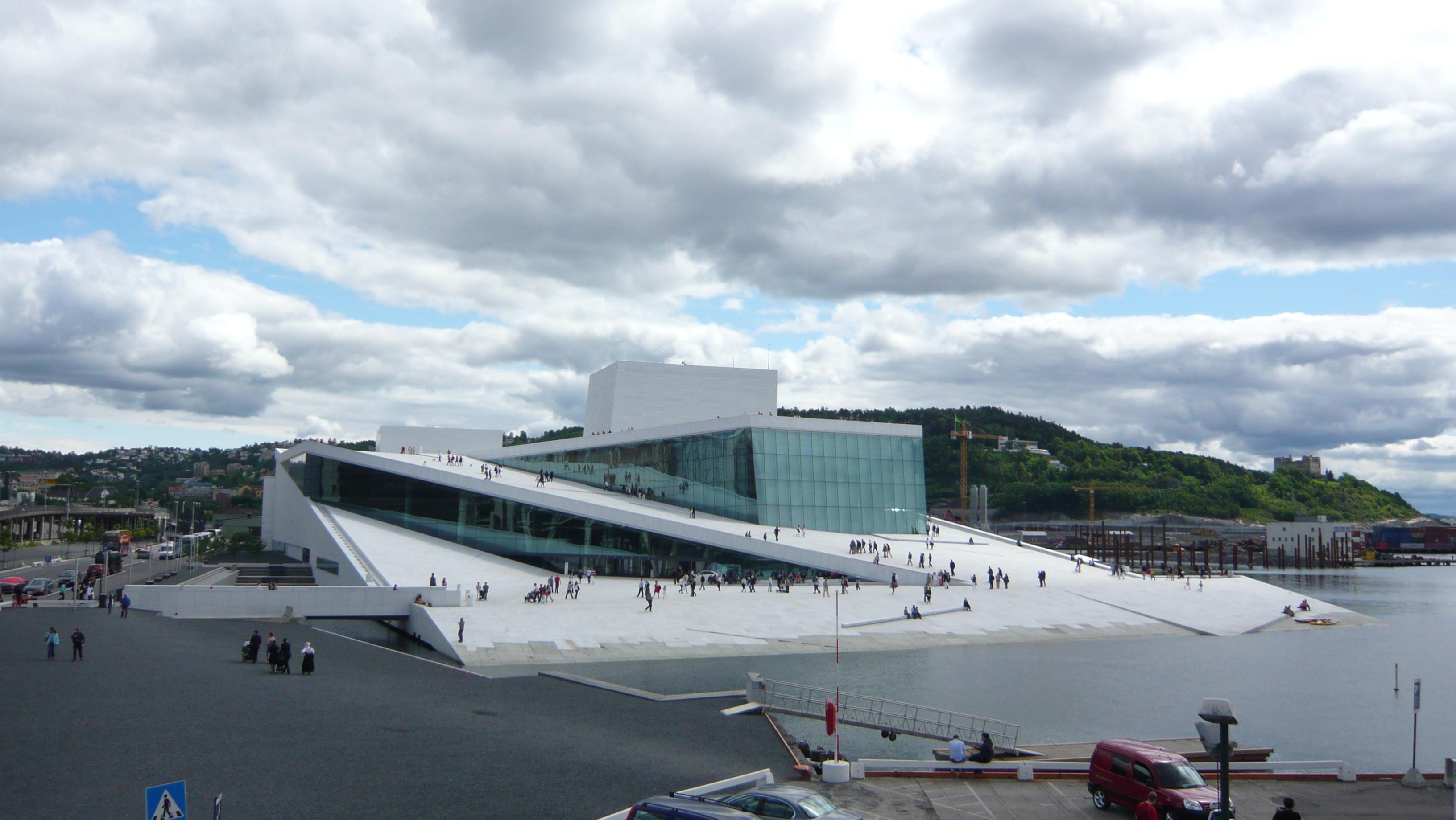 Oslo opera house 3d model
