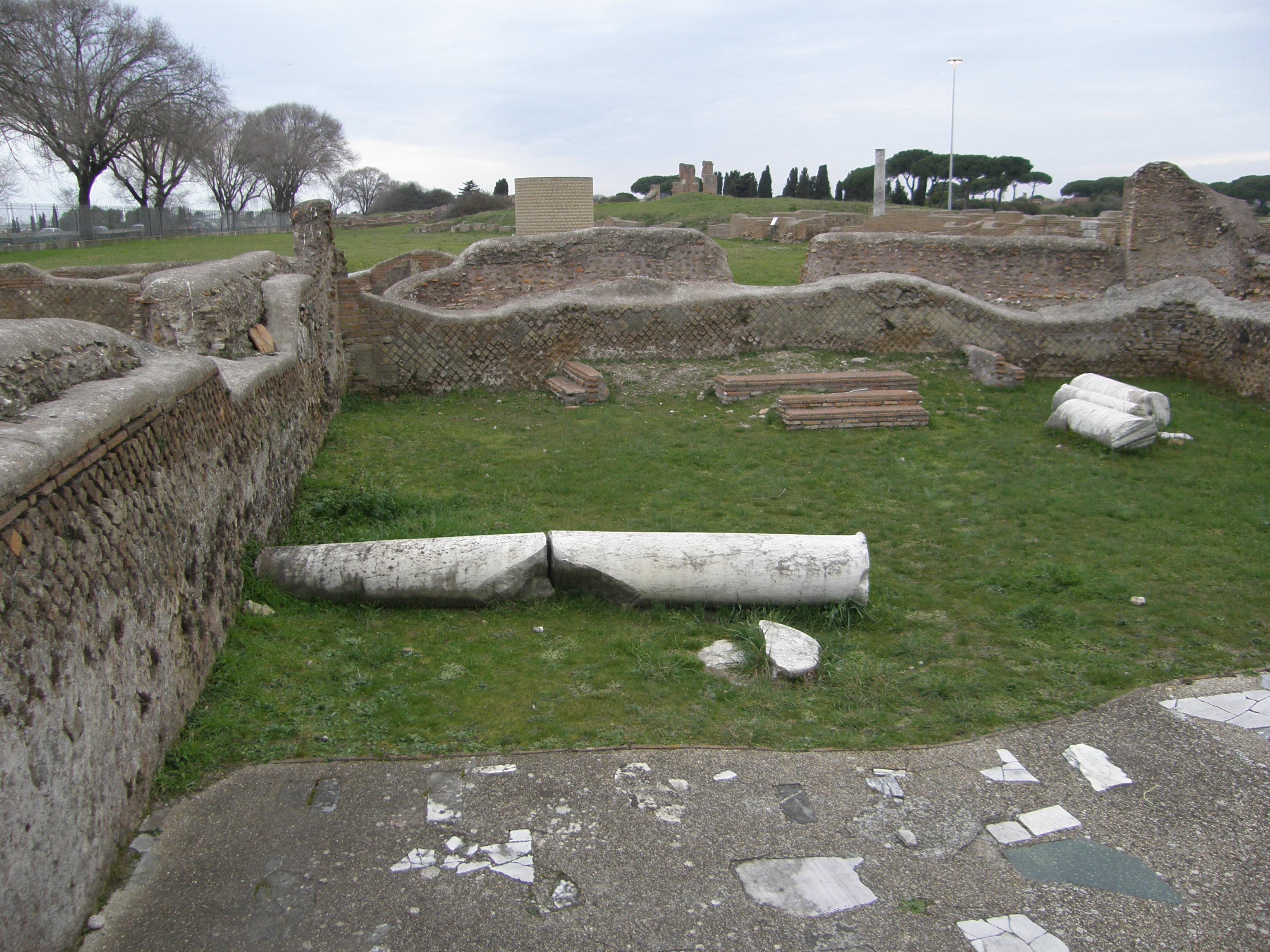 ostie vestige archéologique