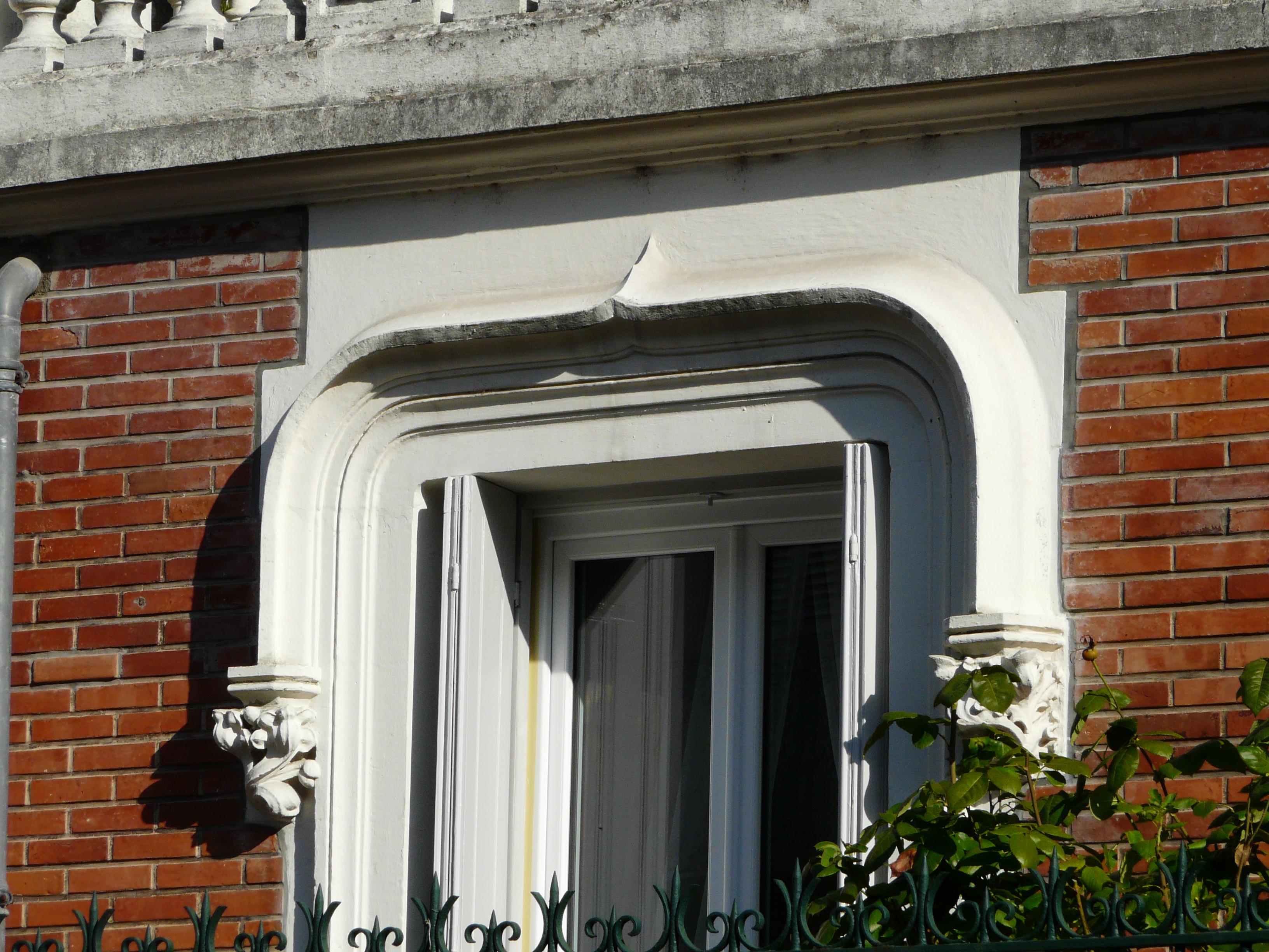 Encadrement De Fenetre Facade file:périgueux rue varsovie 14 encadrement fenêtre
