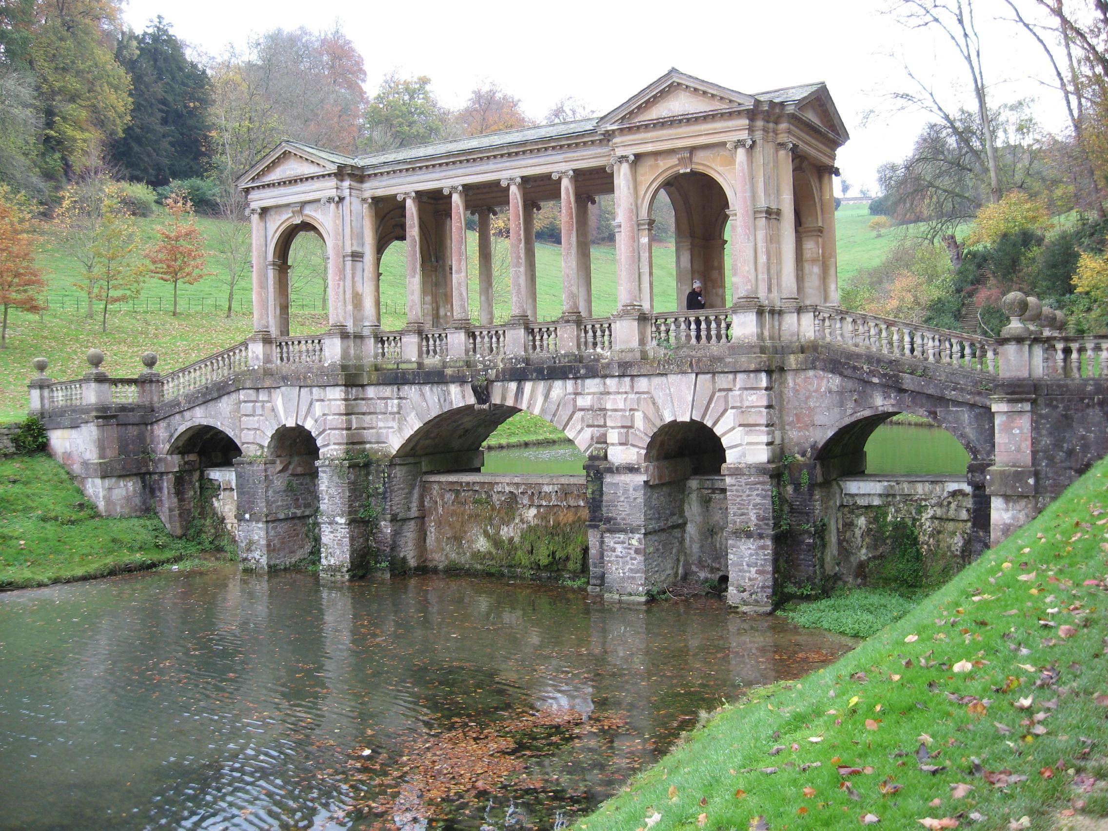 File:Palladian Bridge, Prior Park.   Panoramio Design Ideas