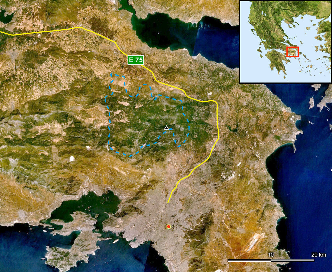 Arxeio Parnitha Satellite Map Blank Jpg Bikipaideia