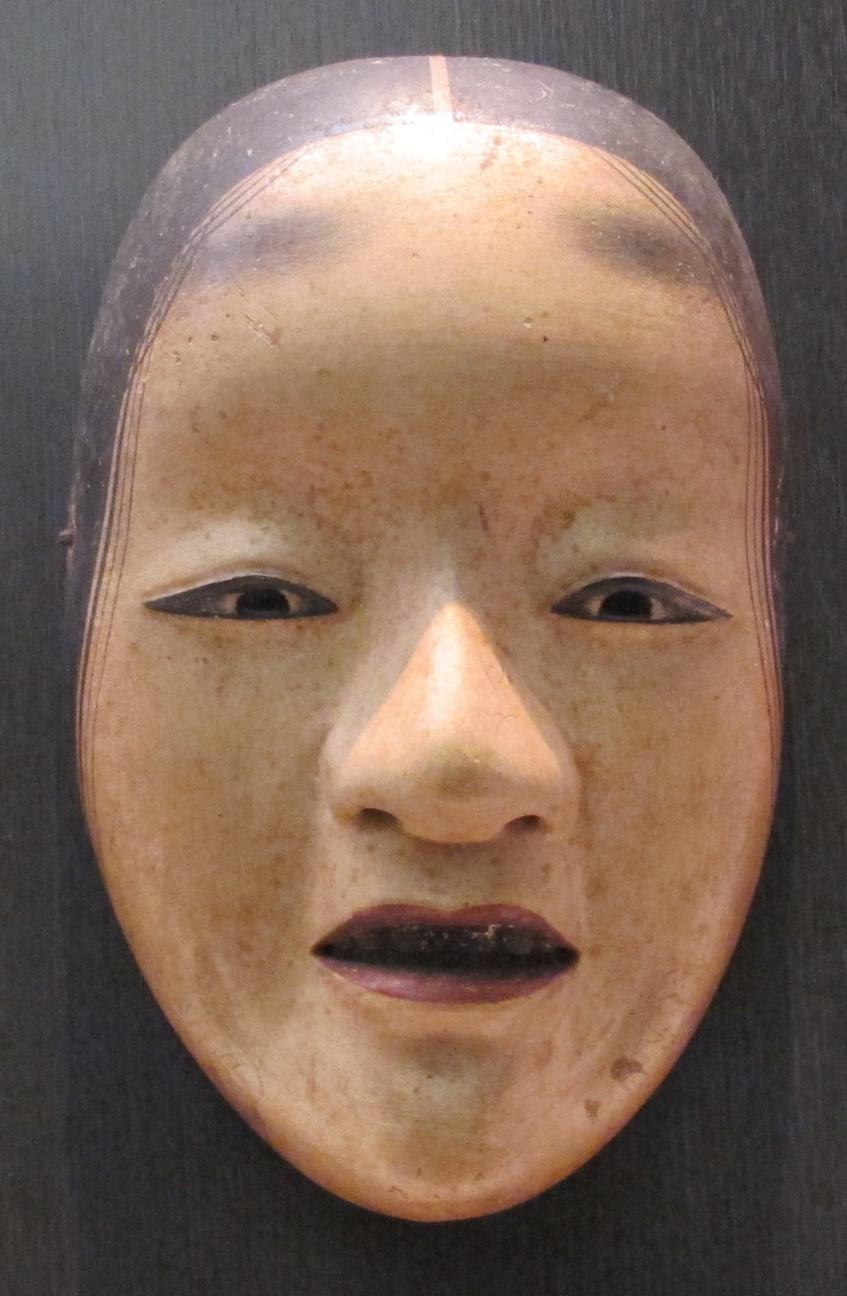 Periodo edo, maschera noh, tipo shakumi, XVII-XVIII sec.JPG