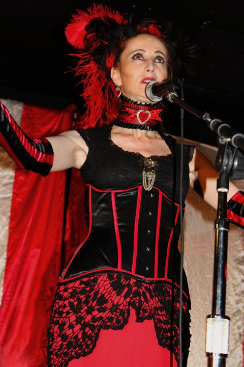Photo of Veronique Chevalier, July 24, 2010, Club Chrononaut, San Diego, CA.jpg