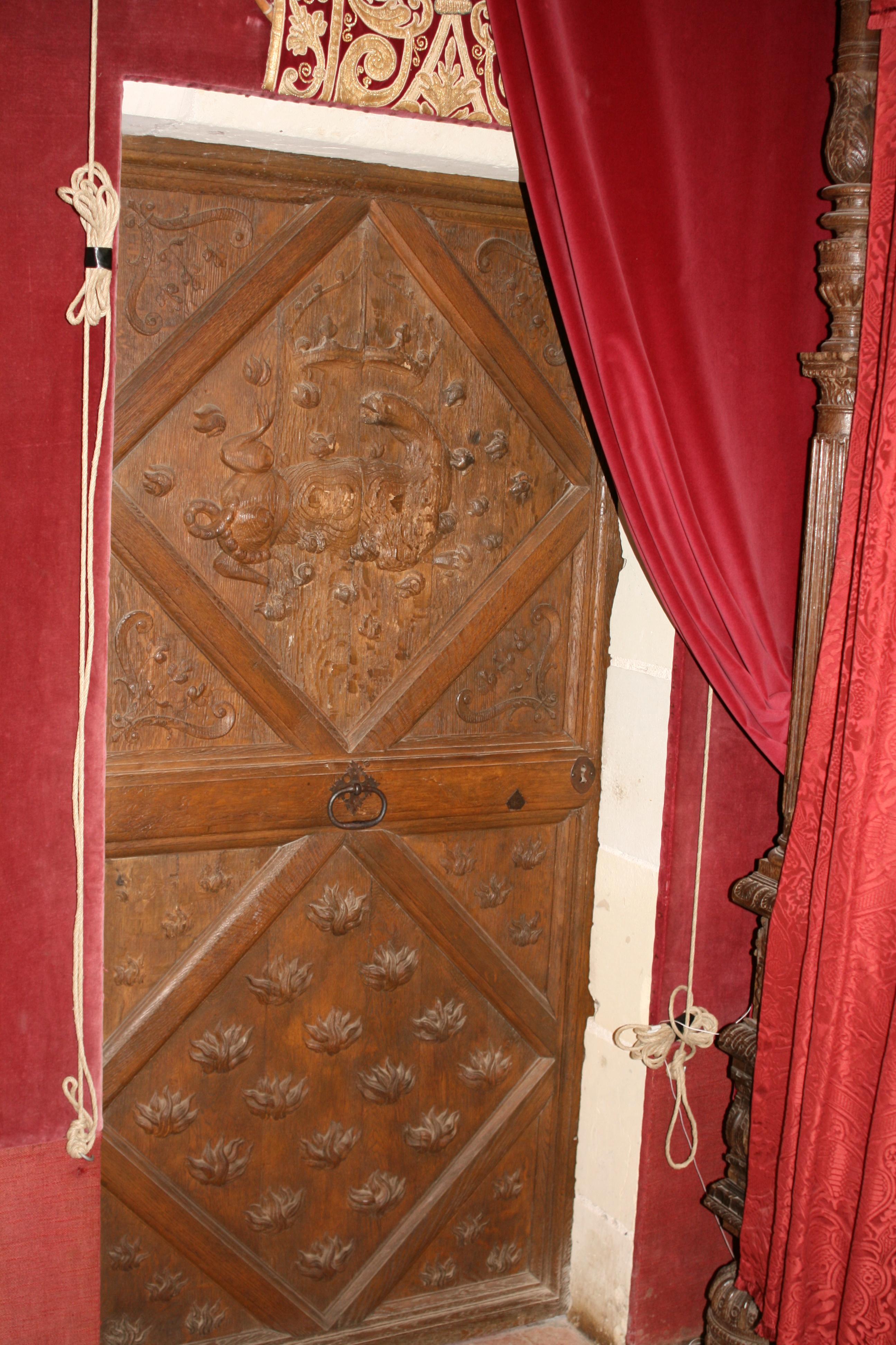 File:Porte Chambre Roi Chambord.jpg - Wikimedia Commons