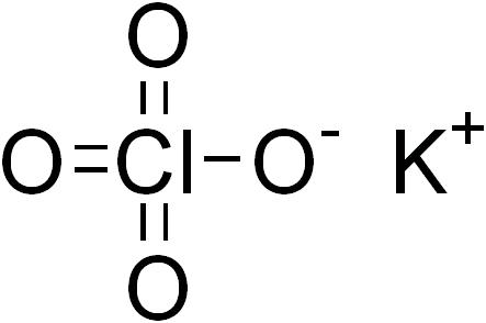 """Résultat de recherche d'images pour """"perchlorate potassium"""""""""""