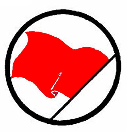 Red flag left