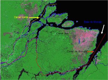 Delta del Río Amazonas