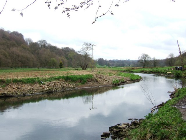River Darwen - geograph.org.uk - 1255359