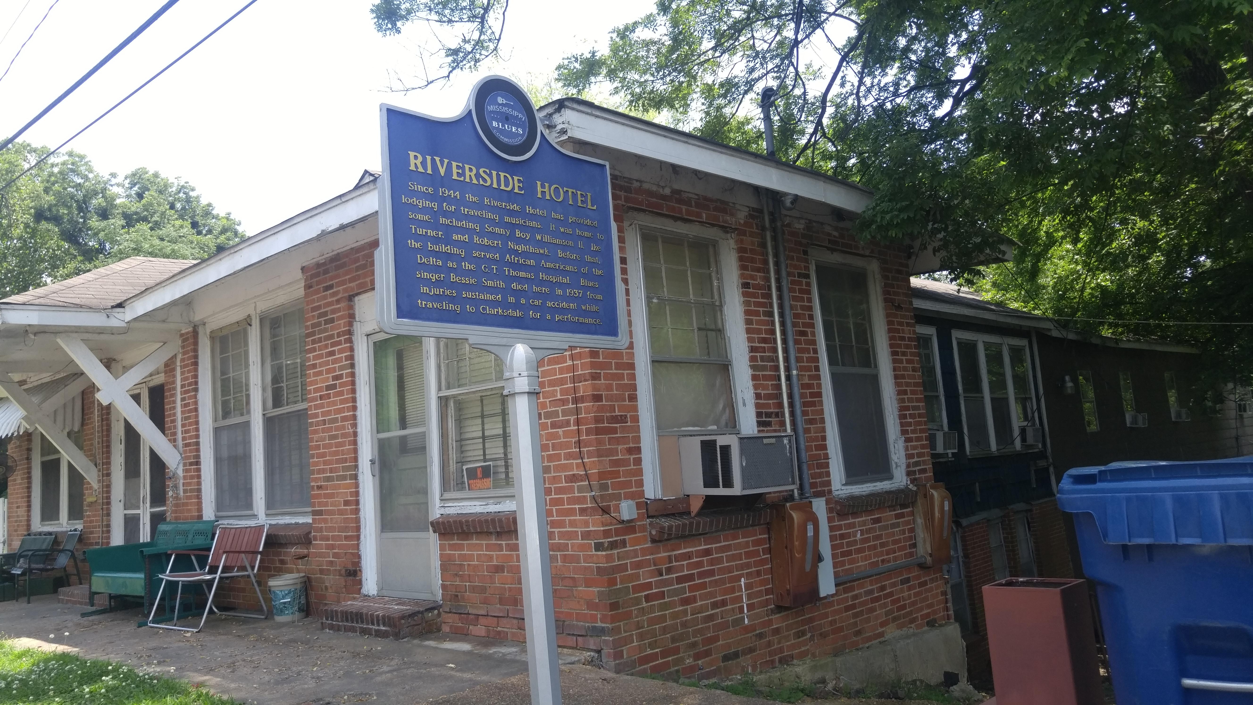 Riverside Hotel (Clarksdale, Mississippi) - Wikipedia