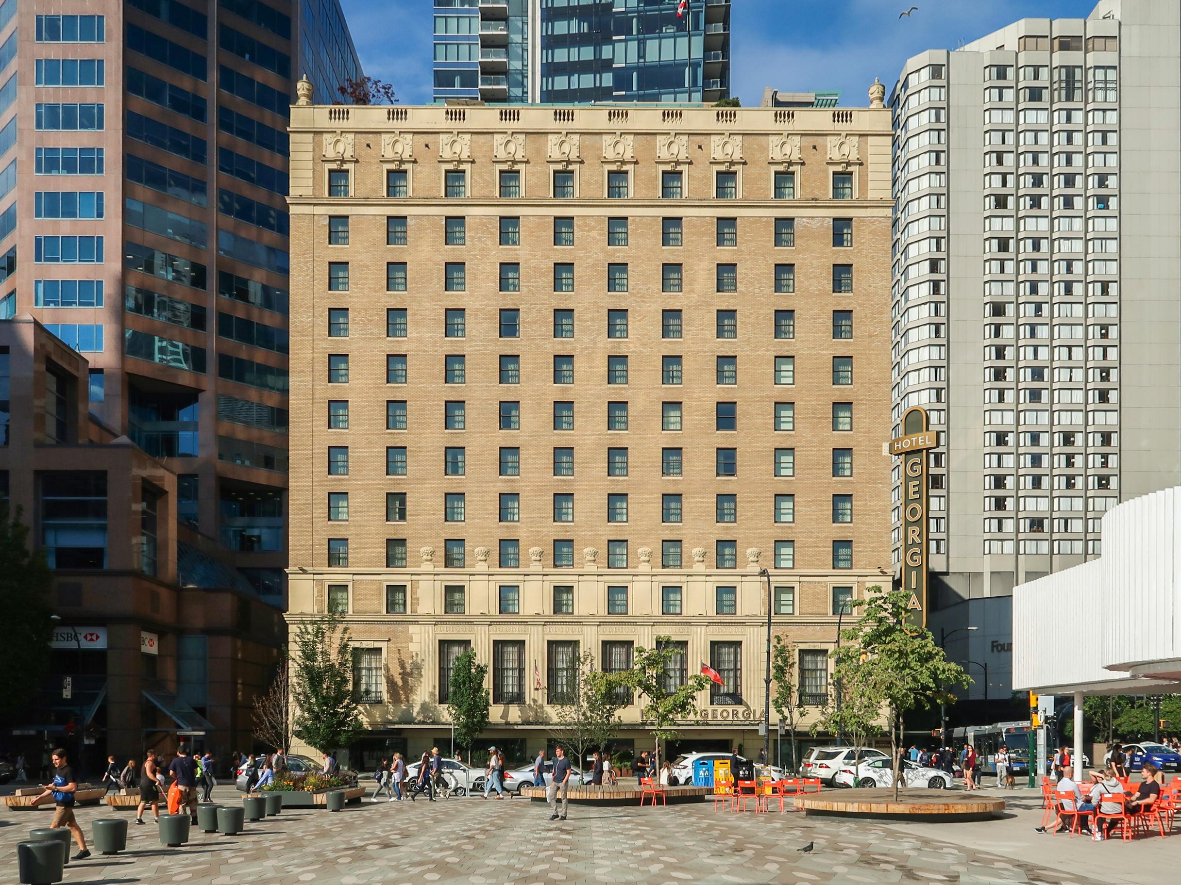 Hotel Georgia (Vancouver) - Wikipedia