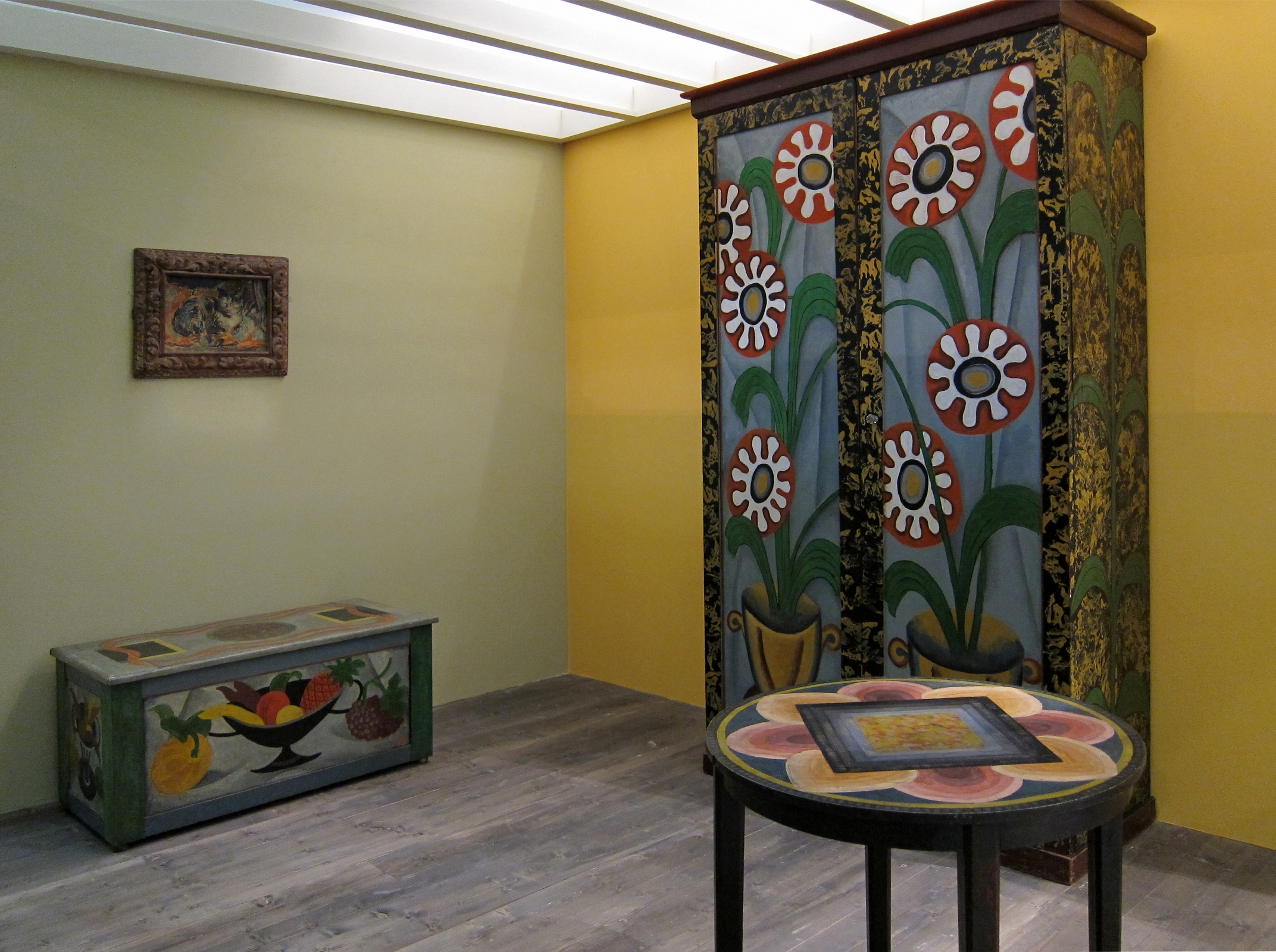 File roubaix roger fry mobilier decor jpg wikimedia commons - Decoration mural design ...