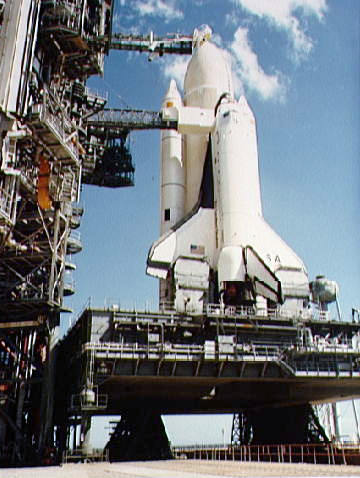 space shuttle landing distance - photo #9