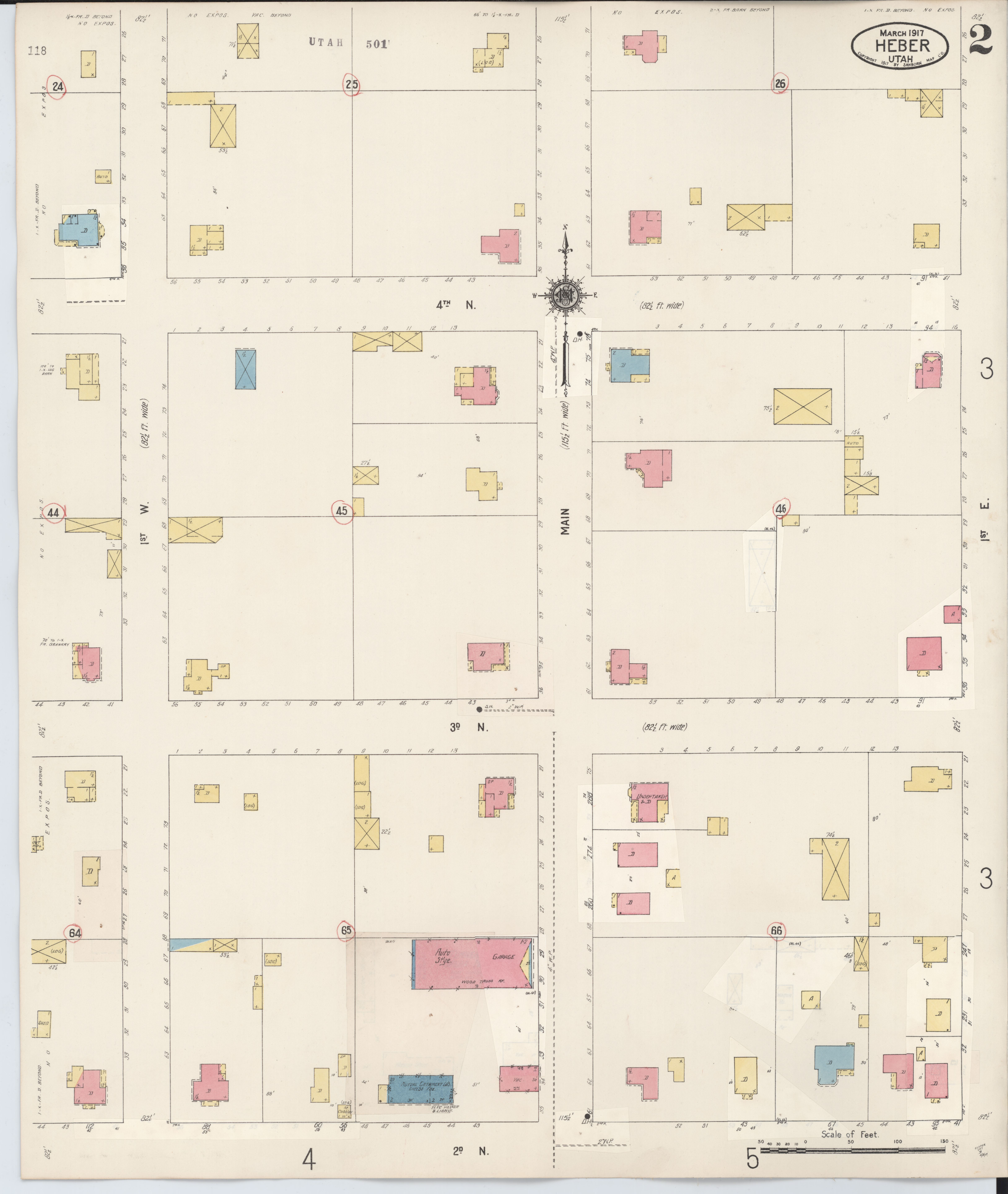 File Sanborn Fire Insurance Map From Heber Wasatch County Utah