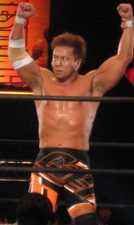 NJPW SATOSHI KOJIMA AJPW BIG HEAD FIGURE JAPAN ONLY