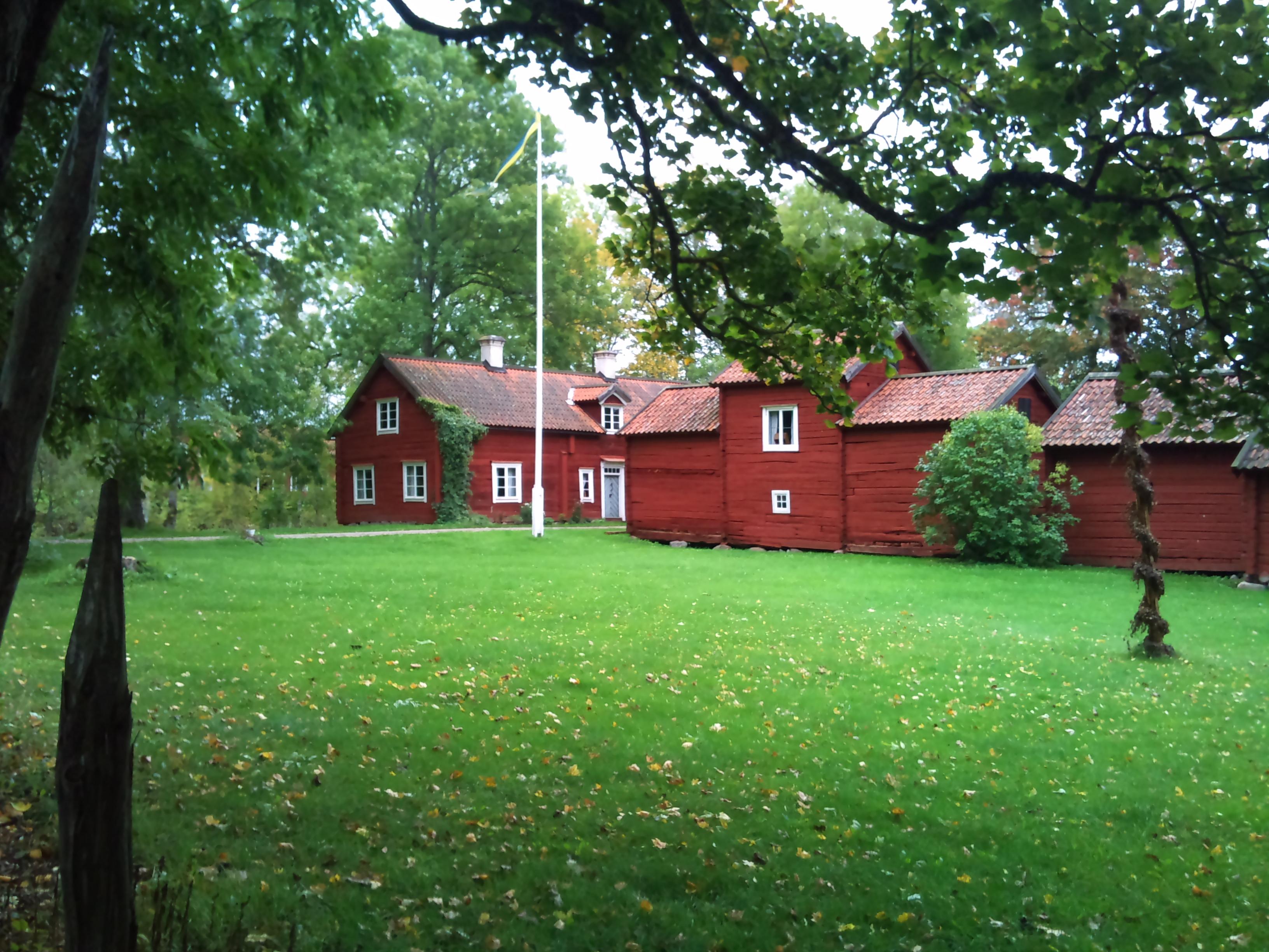 Vy ver Skuttunge-Brunnby 2:1, Skuttunge socken, Uppland