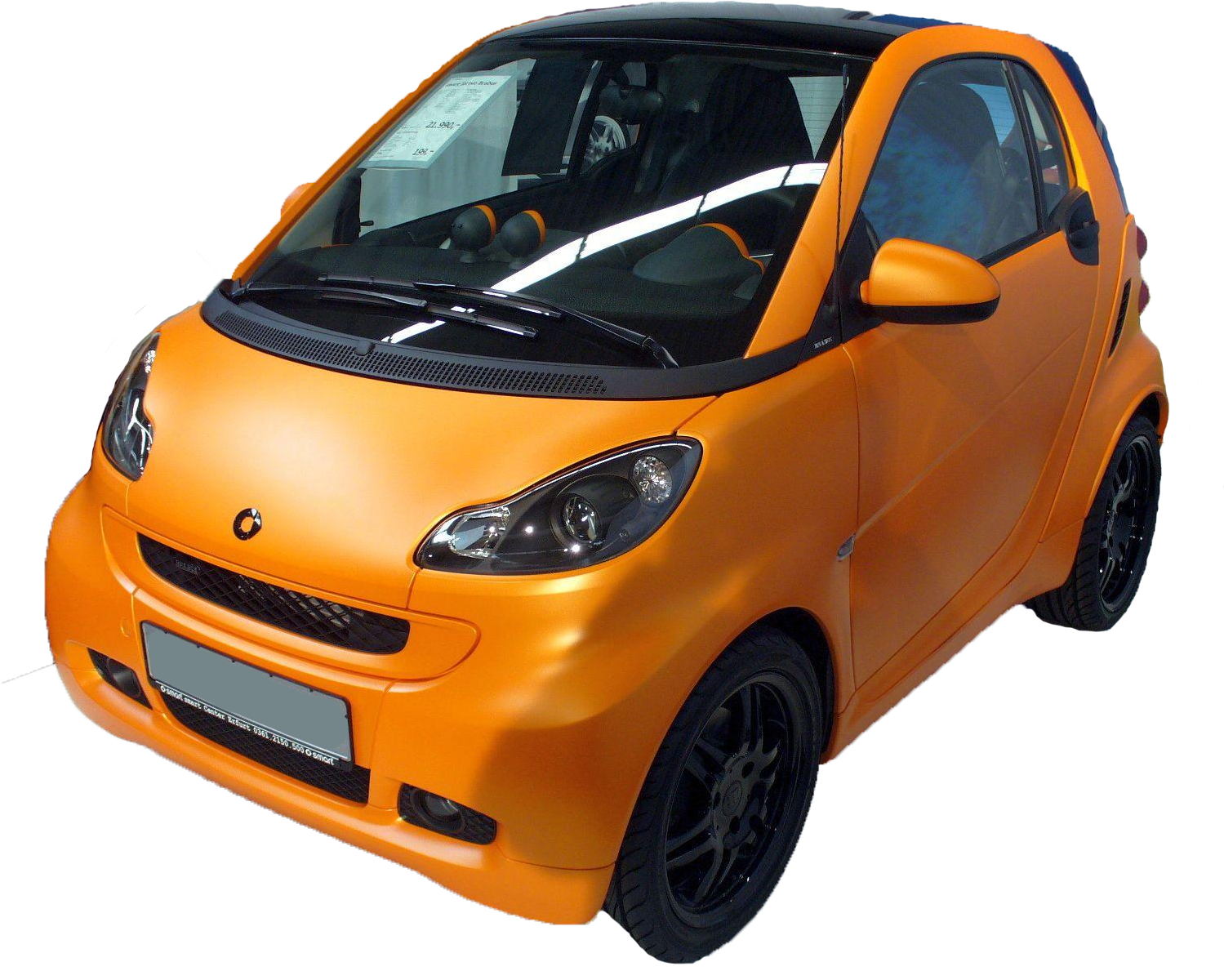 File Smart Fortwo Brabus Png Wikimedia Commons