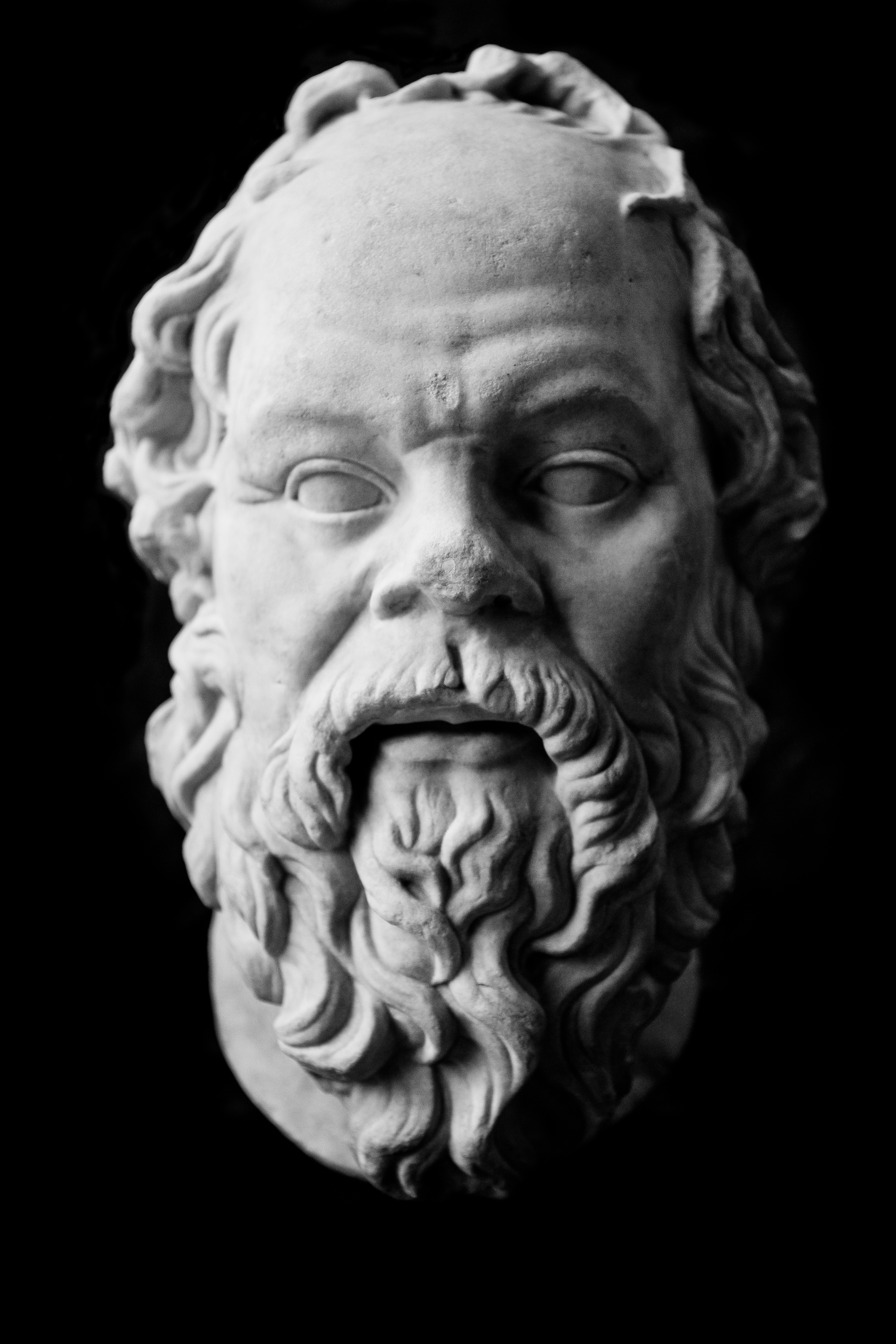 File Socrates Statue At The Louvre 8 April 2013 Jpg