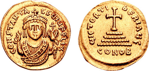 https://upload.wikimedia.org/wikipedia/commons/3/3f/Solidus-Tiberius_II-Sear_421x422.jpg