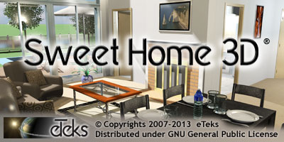 Splash screen for Sweet Home 3D