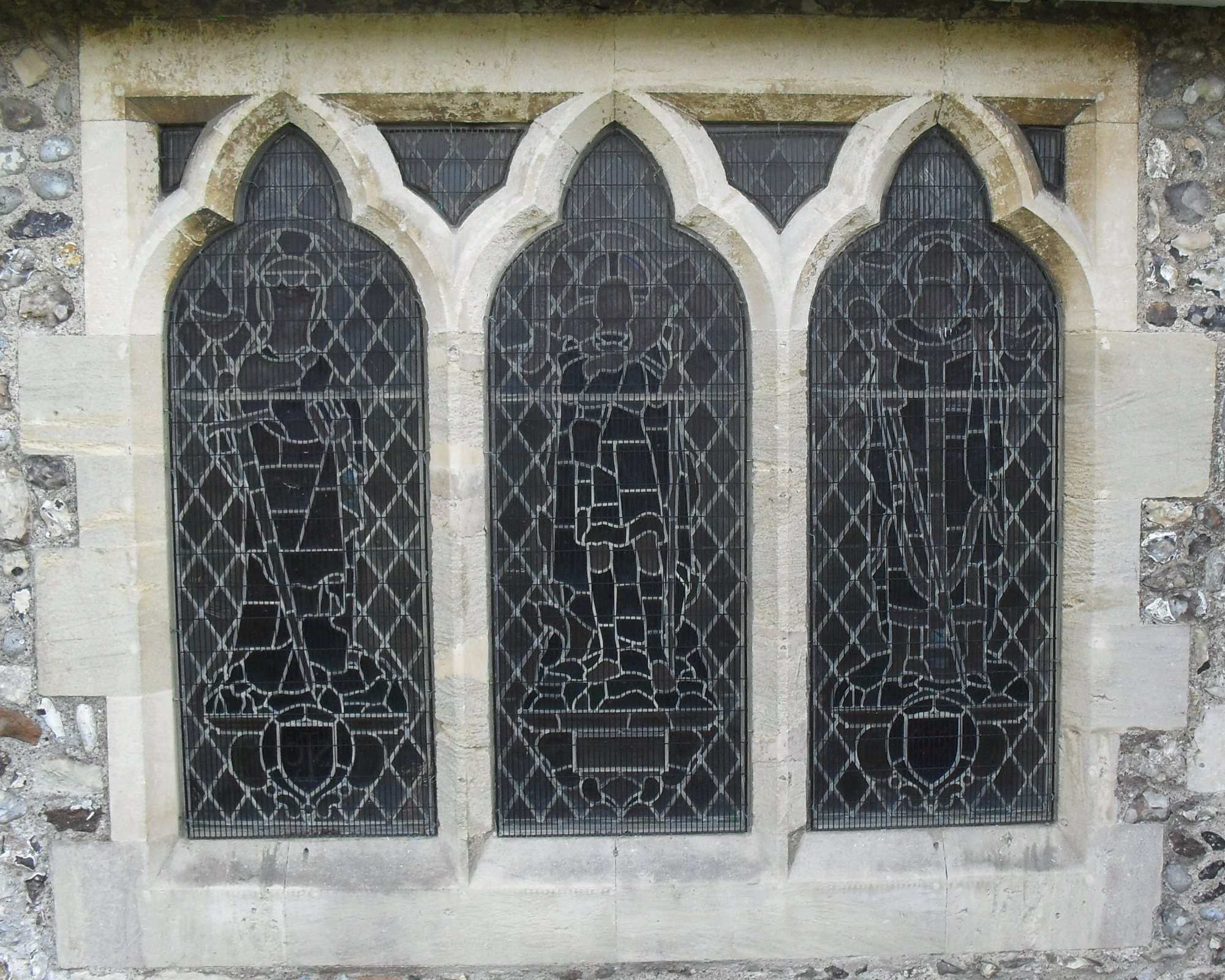 FileStained Glass Window By Cox Barnard St Leonards Church Seaford
