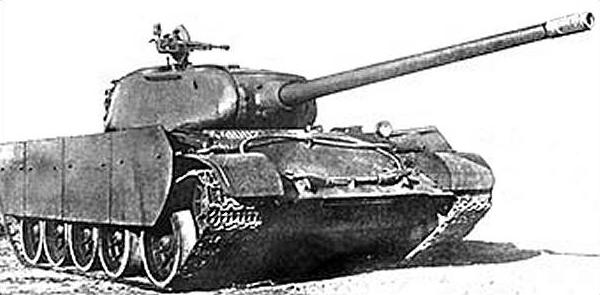 A T-44/100 with additional side skirts