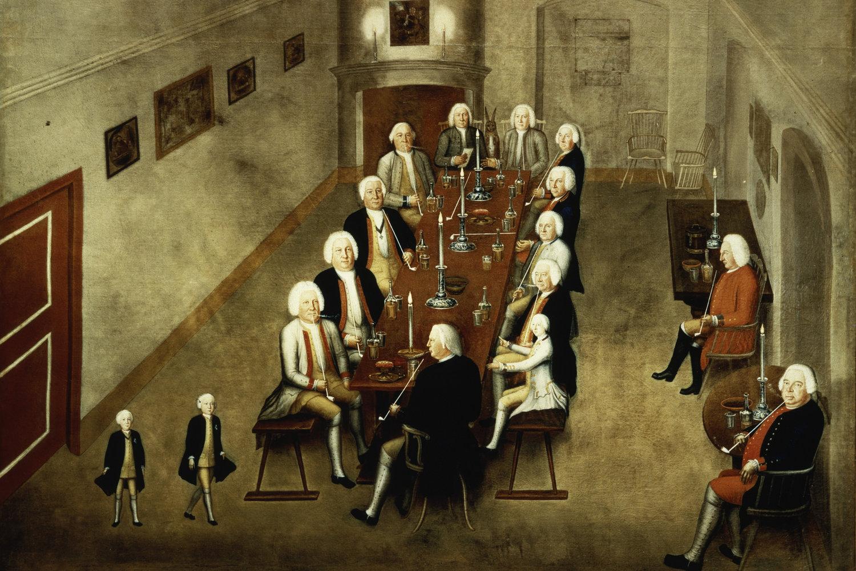 Tabakskollegium Friedrich WilhelmsI. von Preußen (1736)