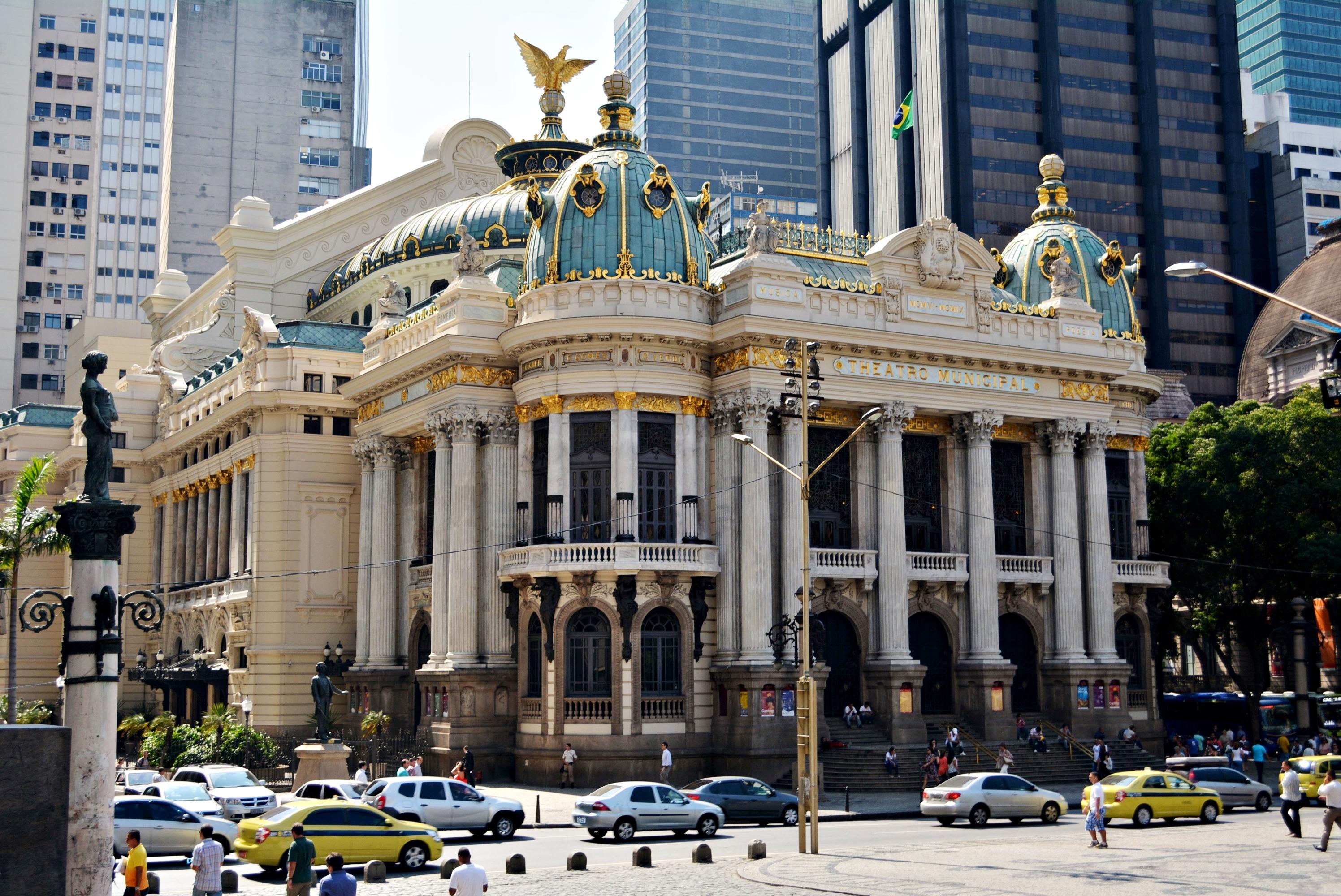 Teatro Municipal de Río de Janeiro - Wikipedia, la enciclopedia libre