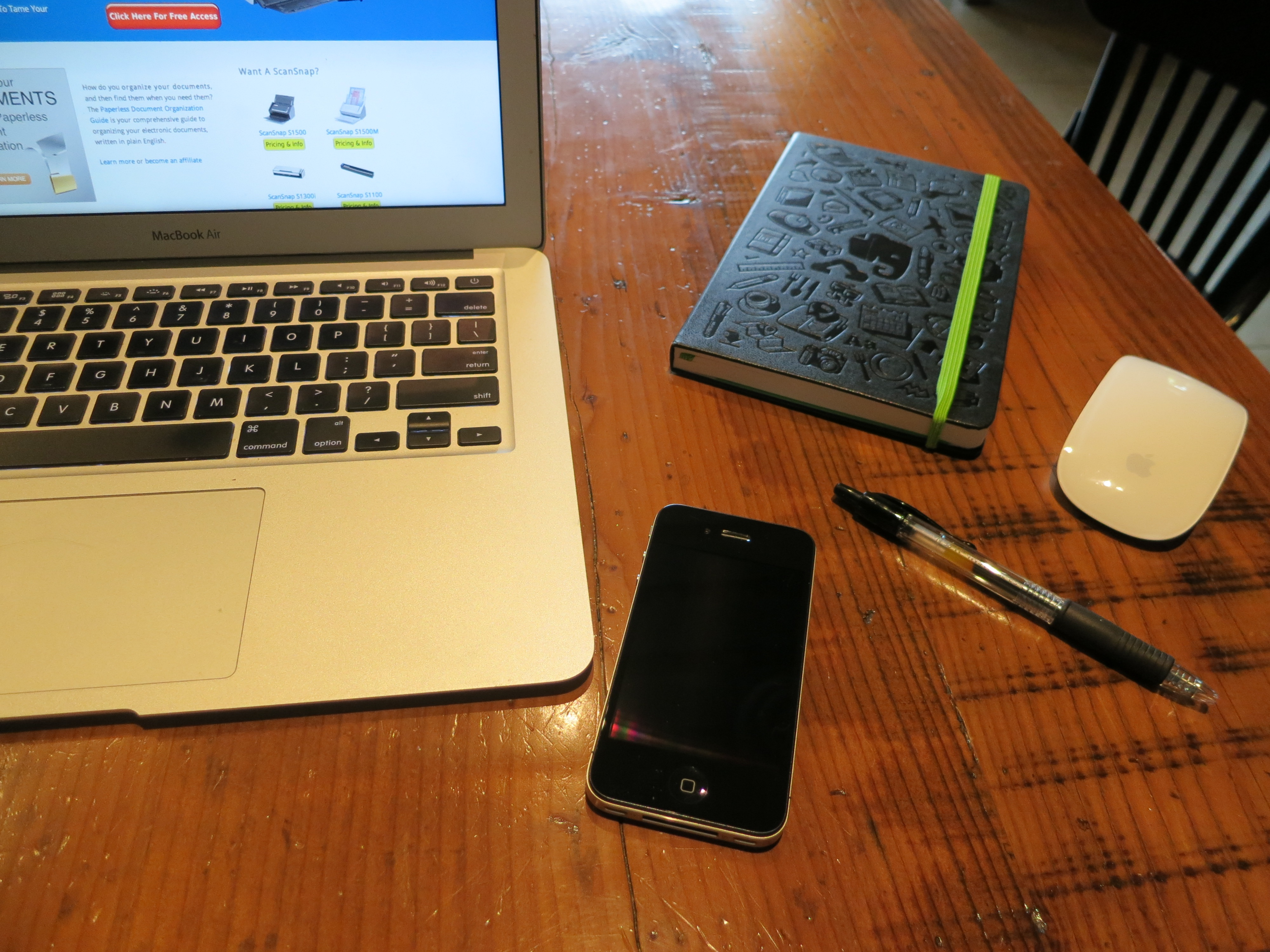 File:Testing the Evernote Smart Notebook by Moleskine at