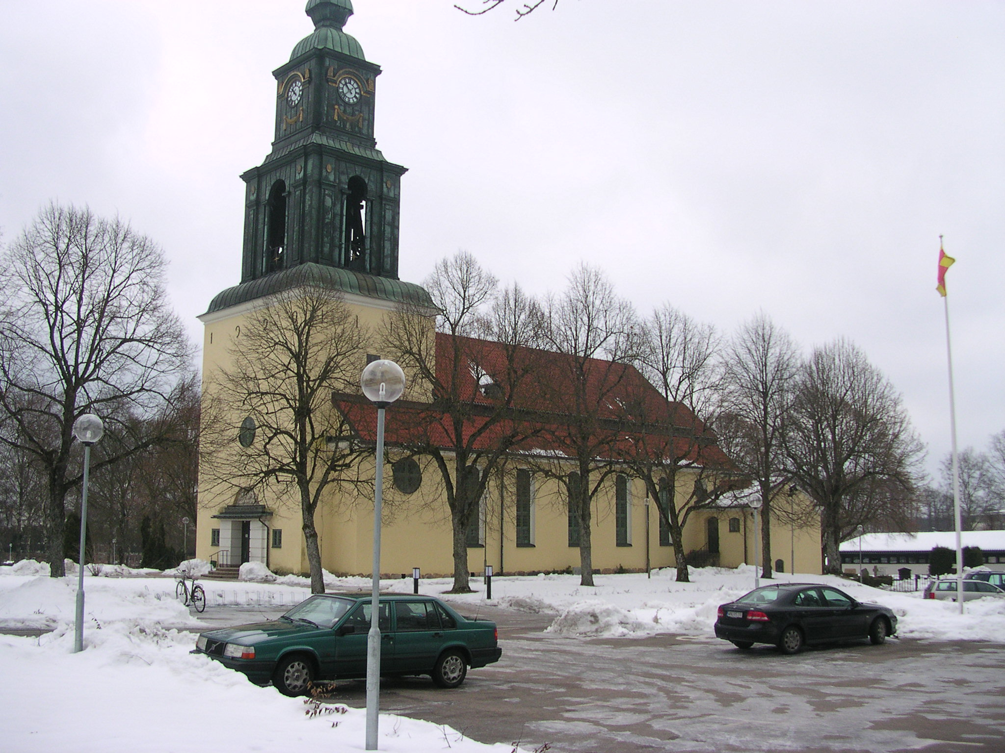 File The Church In Almhult Sweden Jpg Wikimedia Commons