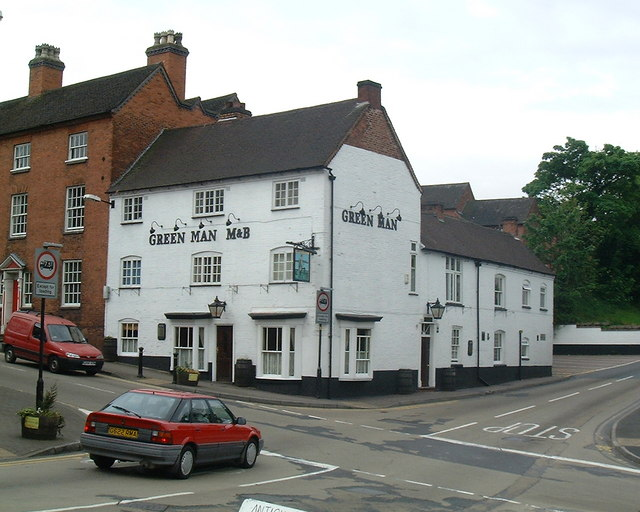 The Green Man Public House - geograph.org.uk - 903176
