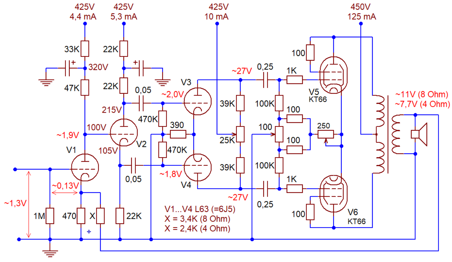 Williamson Amplifier Circuit Not Lossing Wiring Diagram Schematic Dynaco Mkii Tube Ampslabcom File The Original 1947 Rh Commons Wikimedia Org Kit