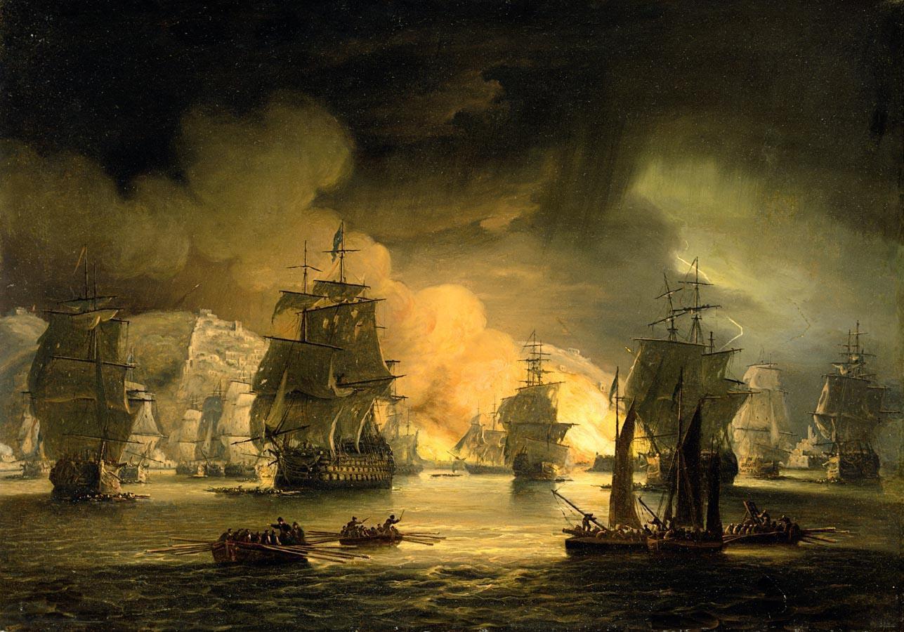 Famous Sea Battle Paintings