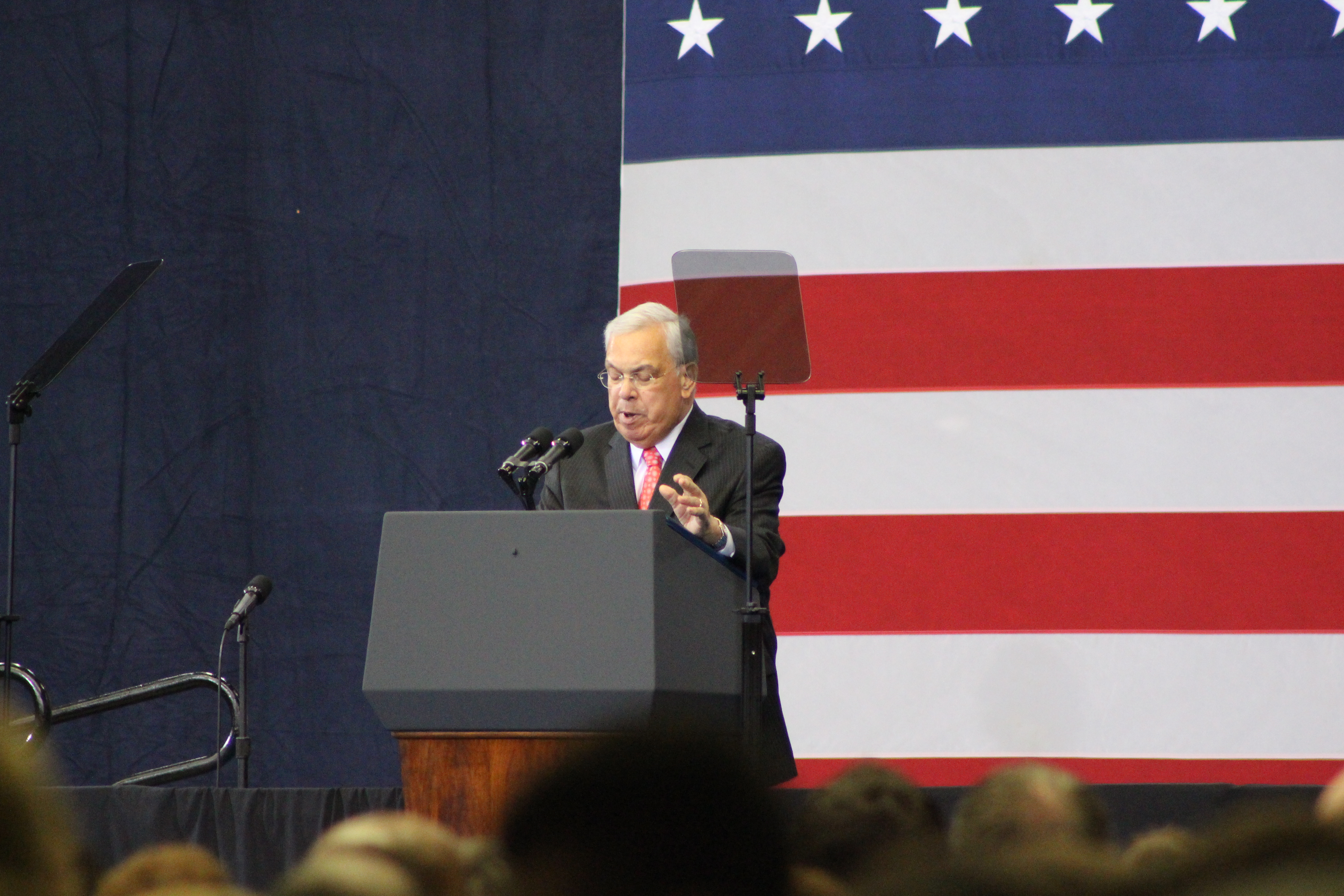 File Thomas Menino at the Reggie Lewis Center JPG Wikimedia mons