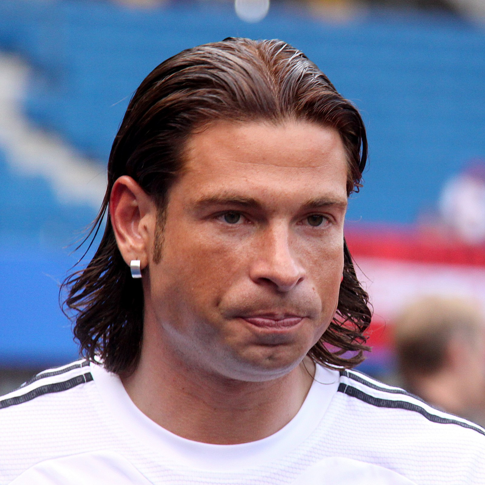 The 36-year old son of father Frank and mother(?) Tim Wiese in 2018 photo. Tim Wiese earned a  million dollar salary - leaving the net worth at 0.5 million in 2018