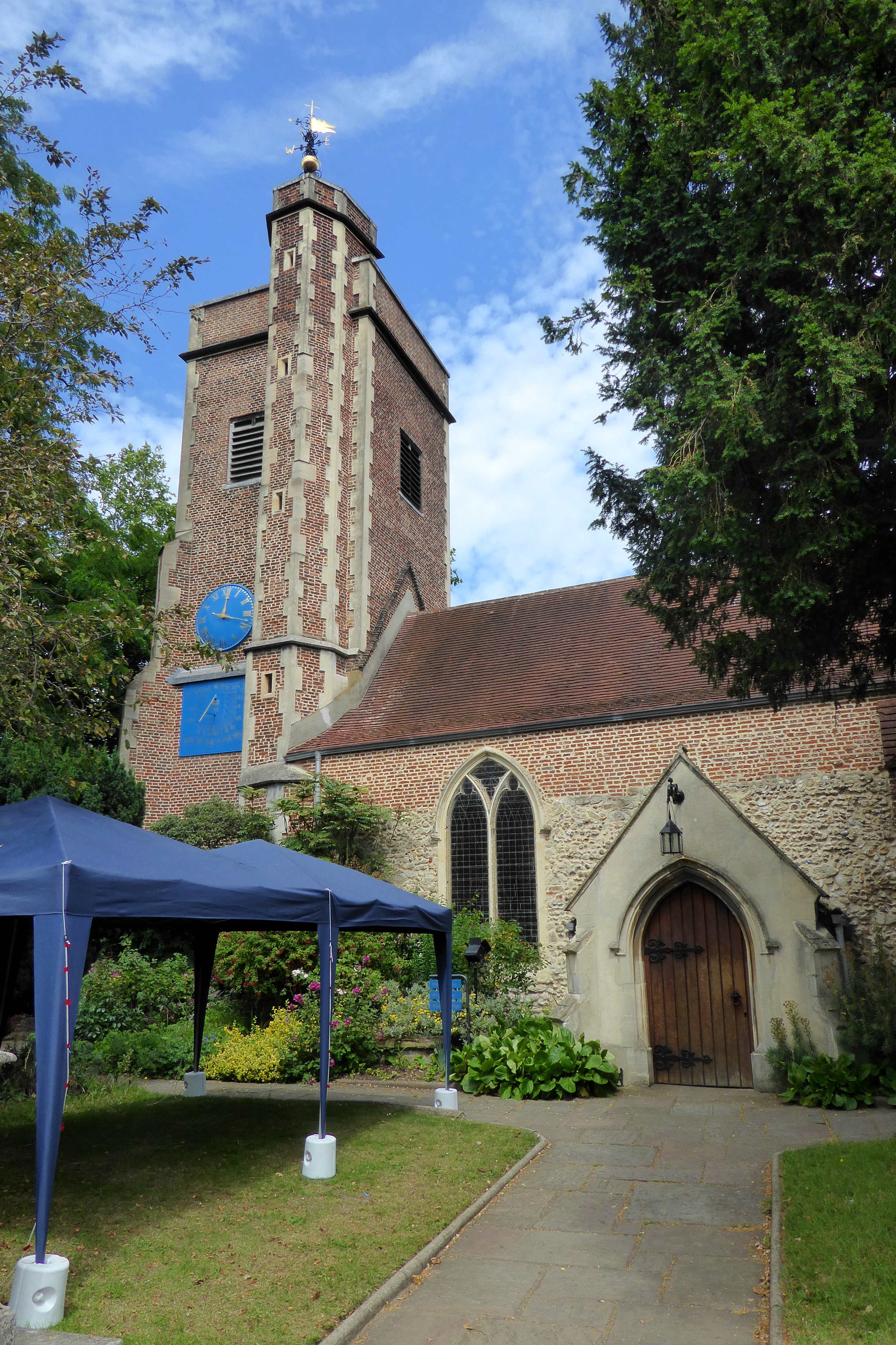 File:Tower and Entrance of St Mary's Church, Barnes.jpg ...