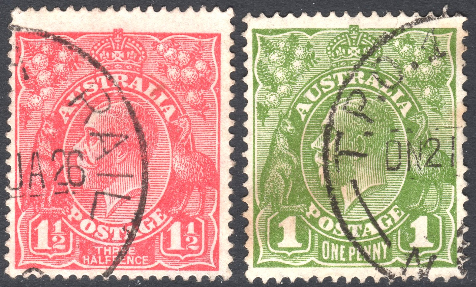 red cancelled a jakubek penny of and mauritius bothpost present two post stamp office stamps the rare past with set brown