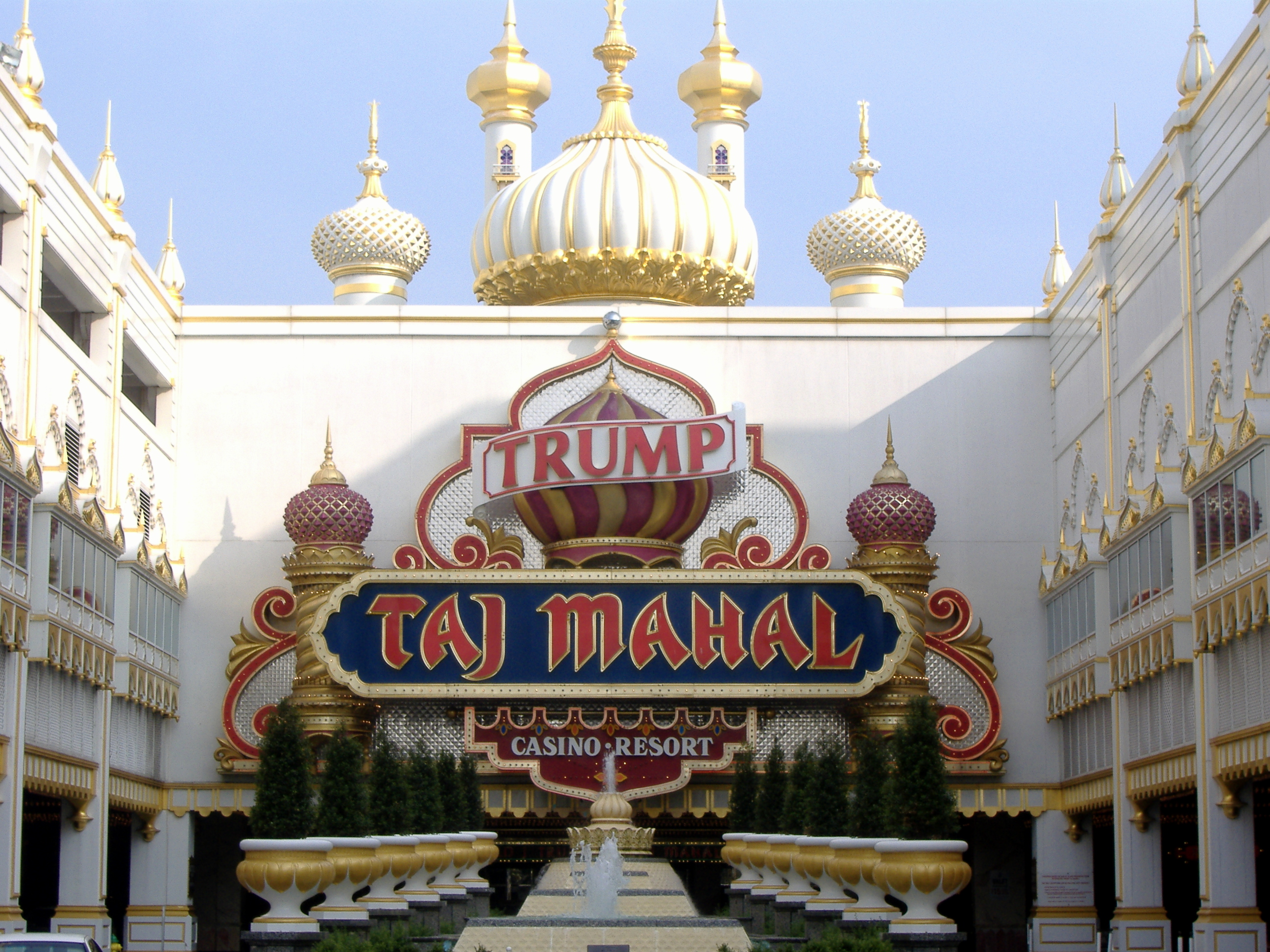 Image result for Pictures Trump Taj Mahal Casino