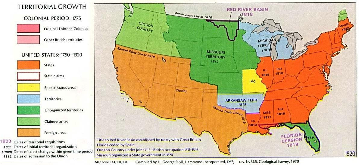 FileUSA Territorial Growth 1820 altjpg Wikimedia Commons