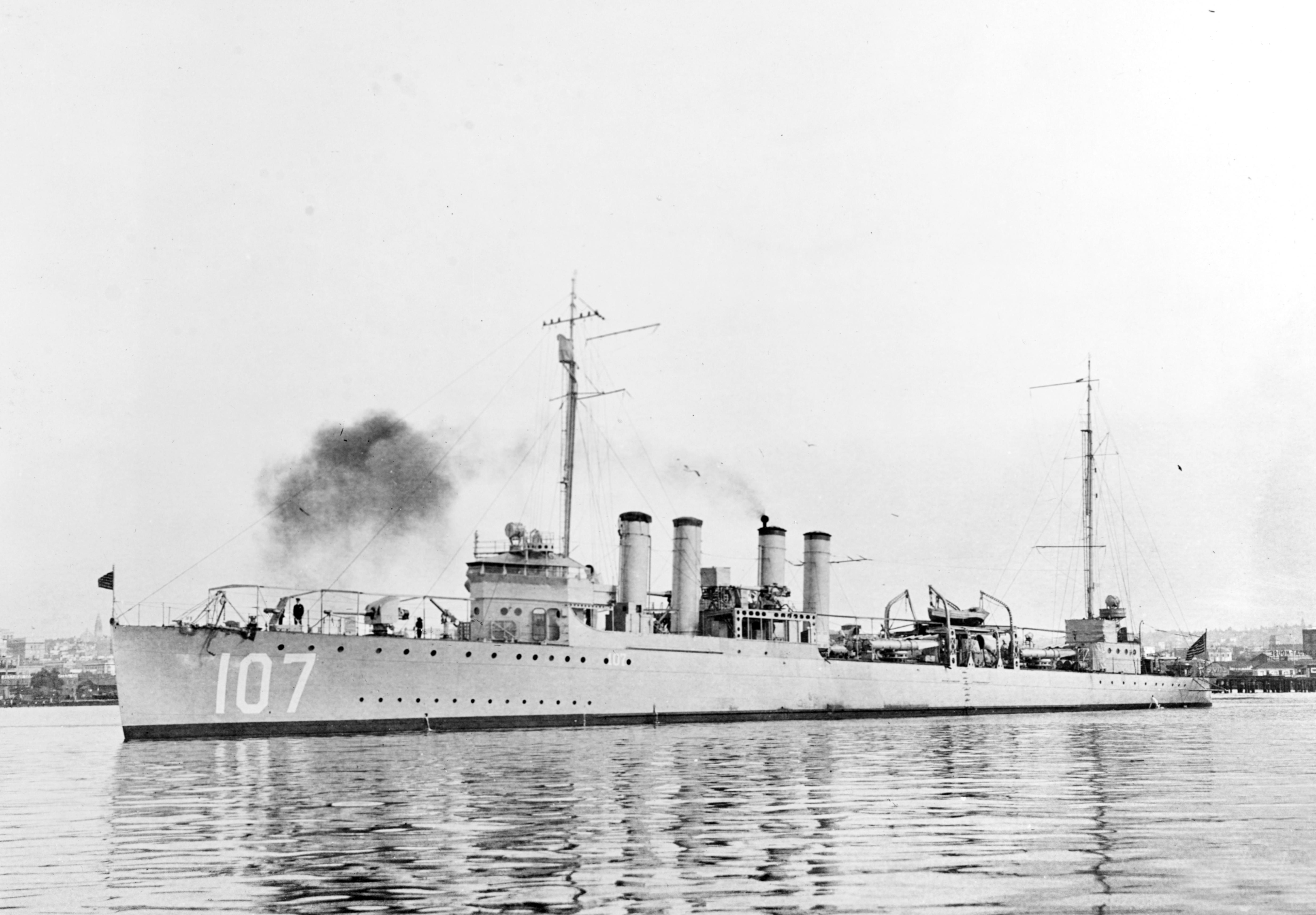 USS Hazelwood (DD-107)
