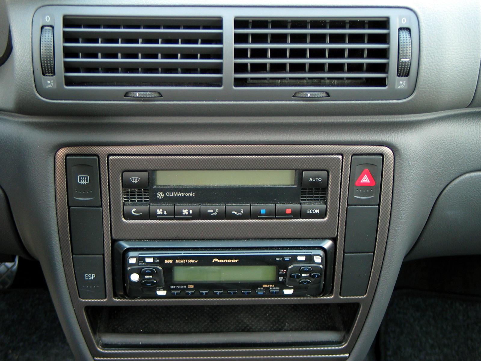 cd cd multi changer passat b5 5 rh passatworld com VW Passat B5 Tuning VW Passat Wagon