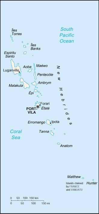 List Of Cities In Vanuatu Wikipedia - Vanuatu map download