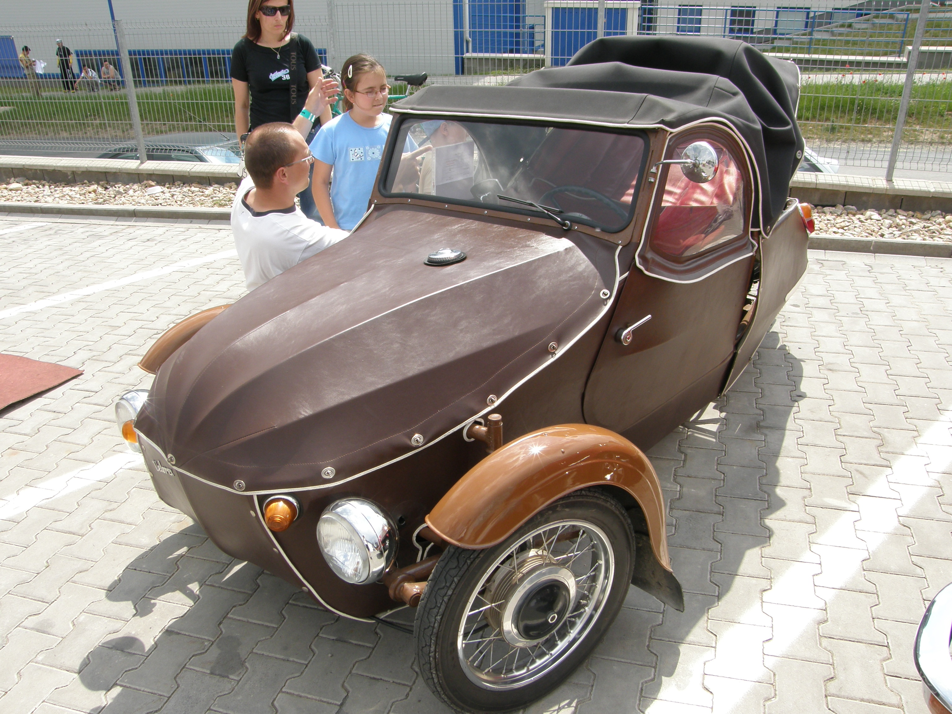 Side Car F Conception