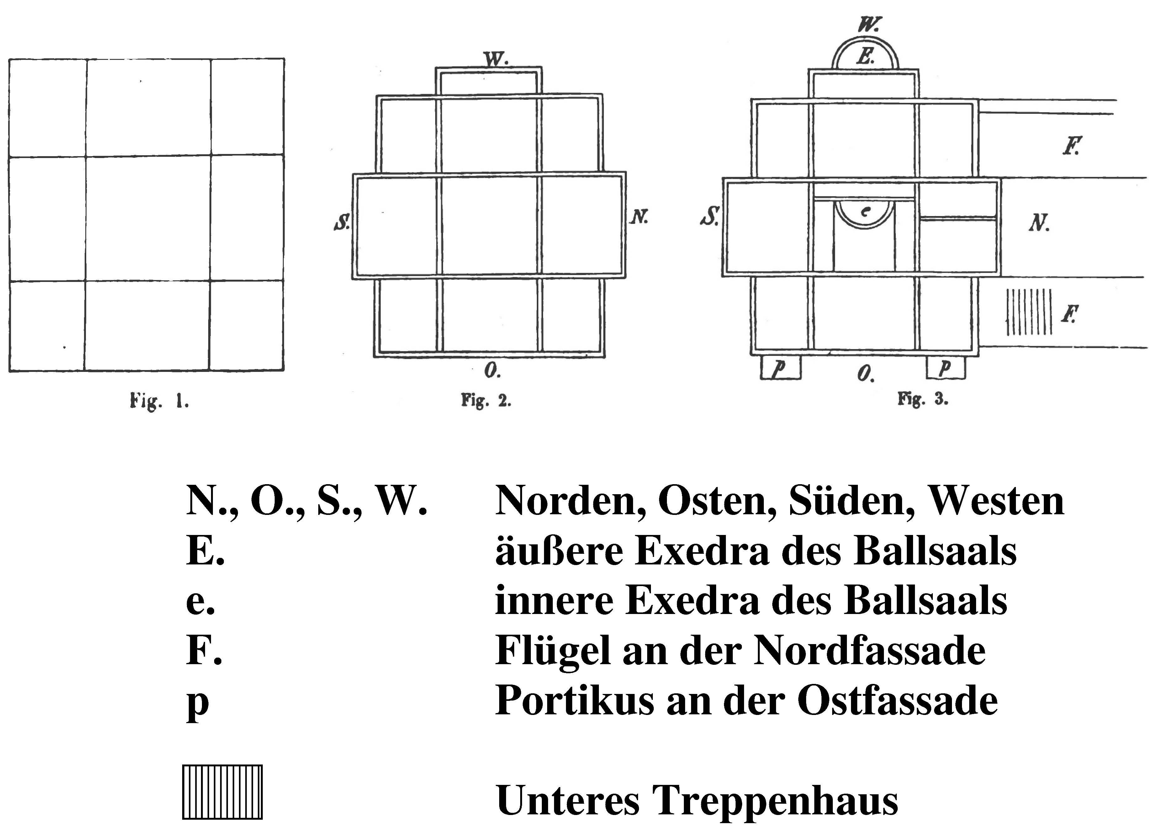 Treppenhaus grundriss maße  Villa Berg – Wikipedia