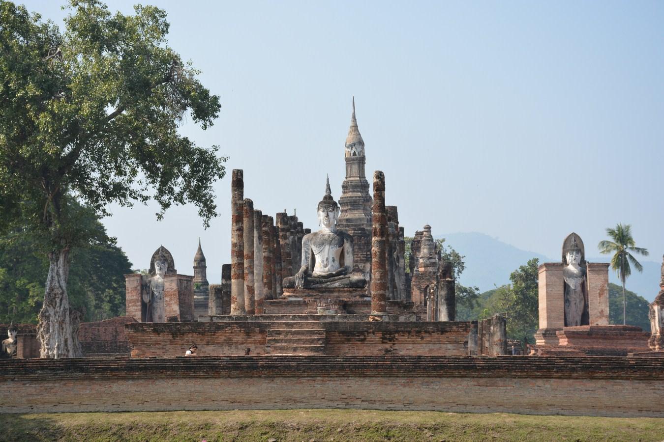 File:Wat Mahathat (Sukhothai, Thailand 2014) (16068138617 ...