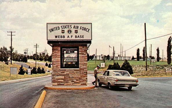 File:Webb AFB Postcard - Main Gate.jpg