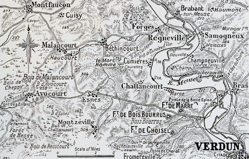 Filewest Bank Of The Meuse Verdun 1916g Wikimedia Commons
