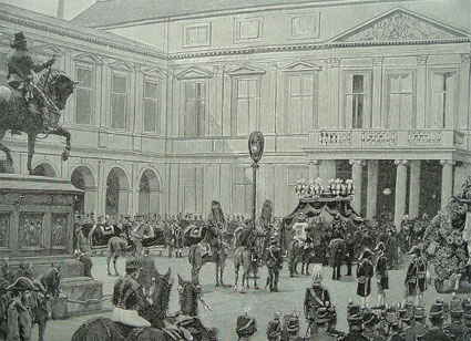Funeral of William III in 1890 Willem3 begrafenis.jpg