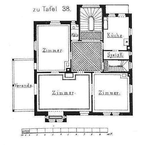 FileWohnhaus Von Gebr Haaga Boheimstr 42 Karlsvorstadt Stuttgart