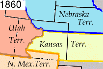 Coloradoterritoriet år 1860
