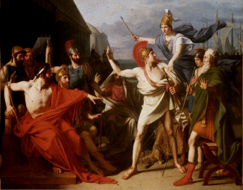 the role of zeus in the iliad by homer